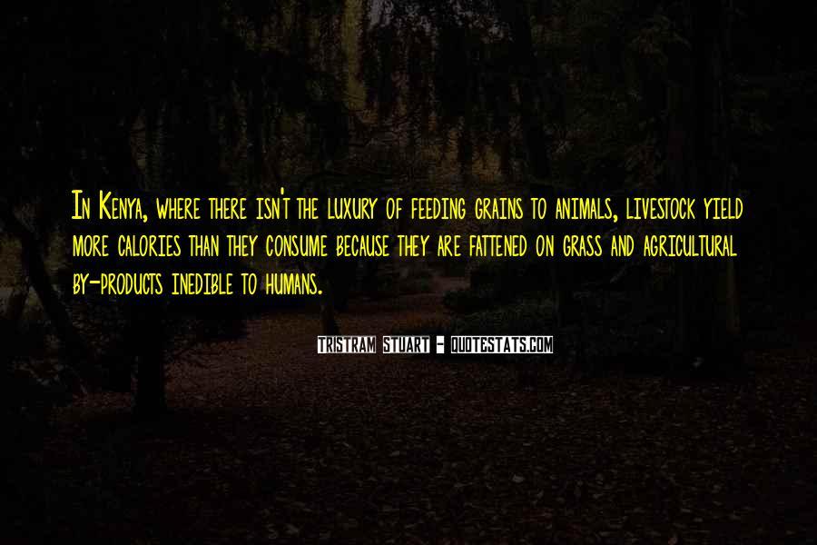 Tristram Stuart Quotes #1642374