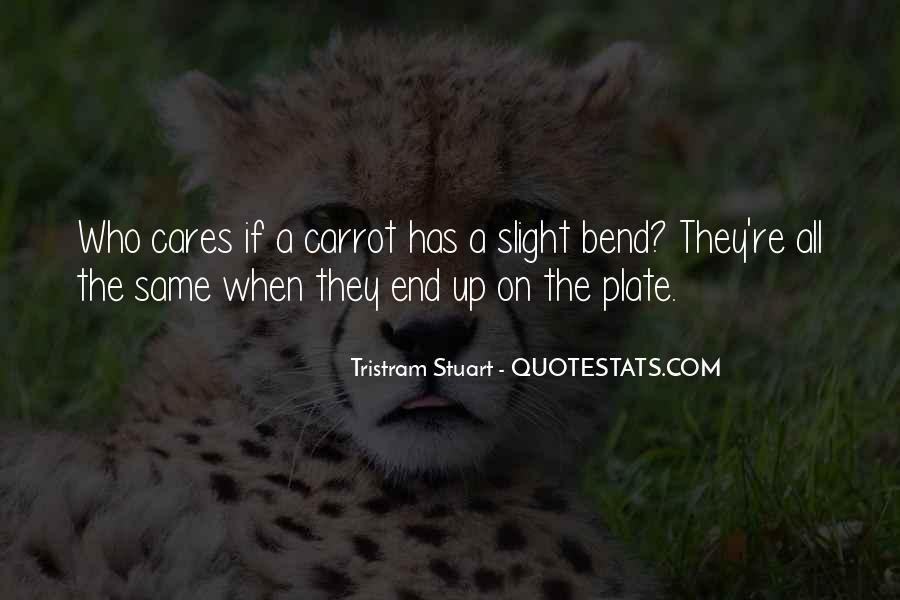 Tristram Stuart Quotes #284597
