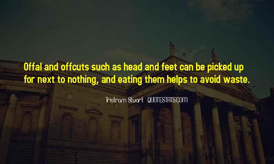 Tristram Stuart Quotes #315678