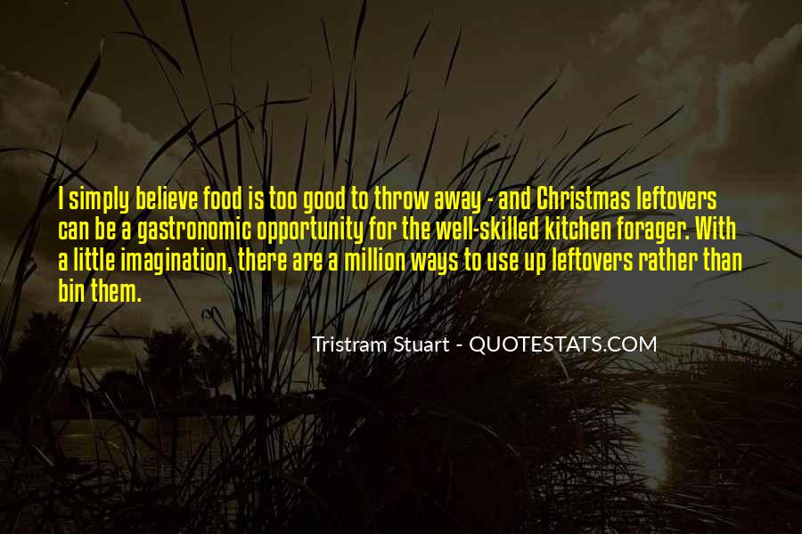 Tristram Stuart Quotes #337832