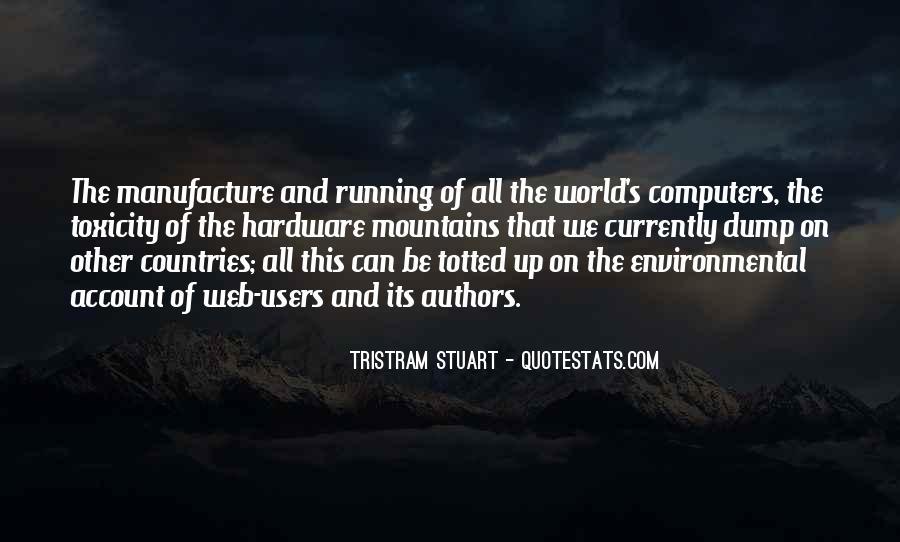 Tristram Stuart Quotes #385771