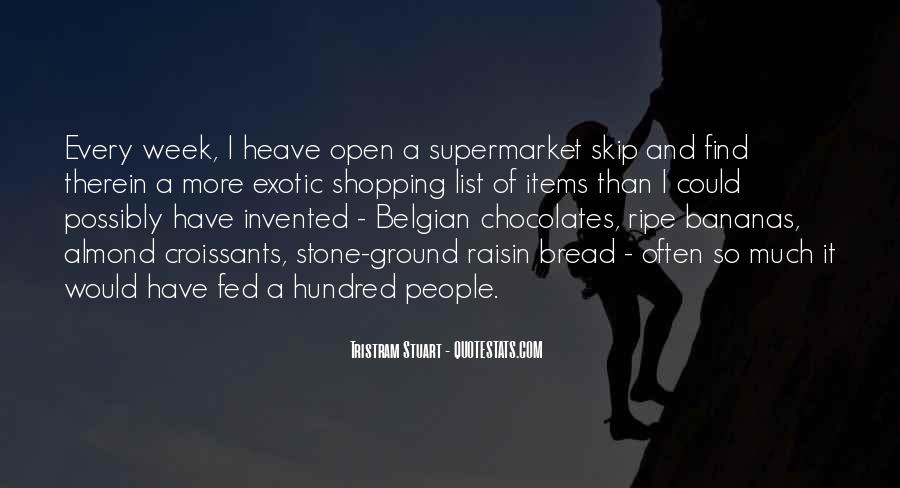 Tristram Stuart Quotes #459153