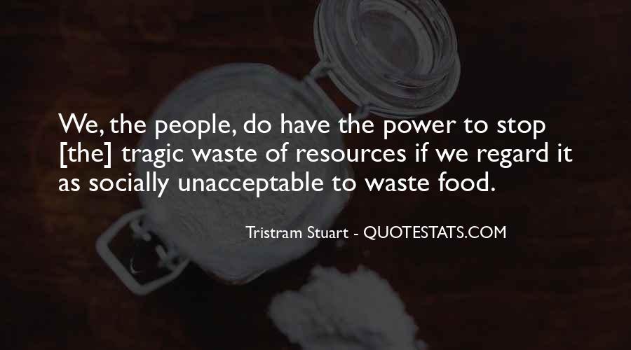 Tristram Stuart Quotes #48245