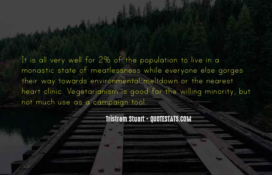 Tristram Stuart Quotes #57698