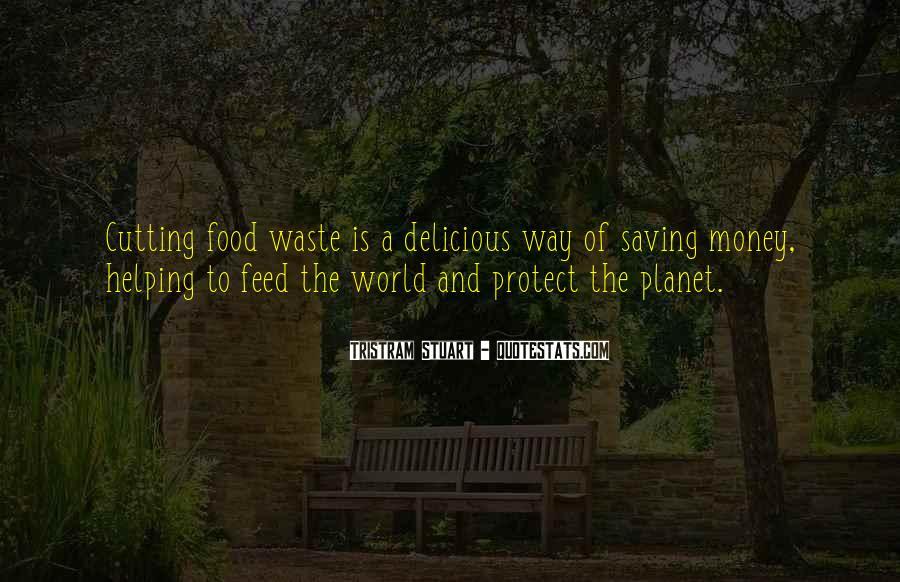 Tristram Stuart Quotes #806288