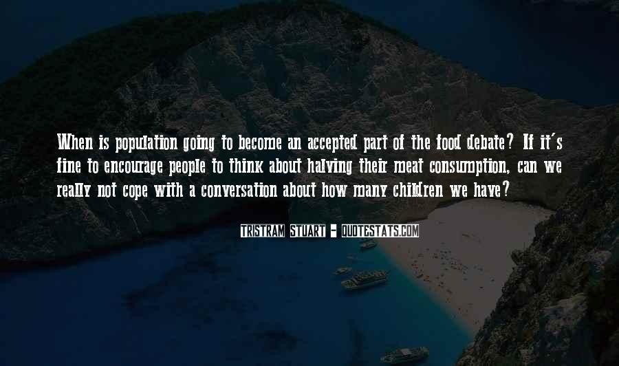 Tristram Stuart Quotes #904907