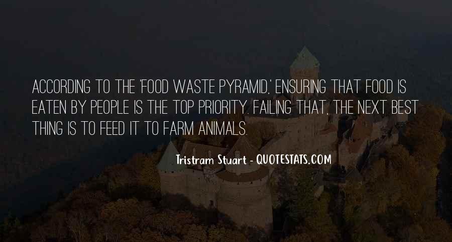 Tristram Stuart Quotes #998727