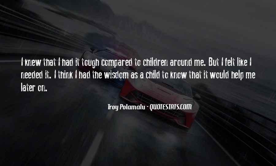 Troy Polamalu Quotes #1241297