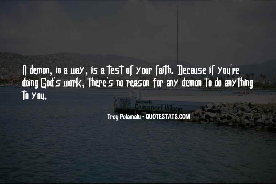 Troy Polamalu Quotes #135245