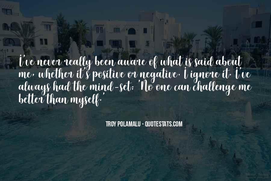 Troy Polamalu Quotes #1520161