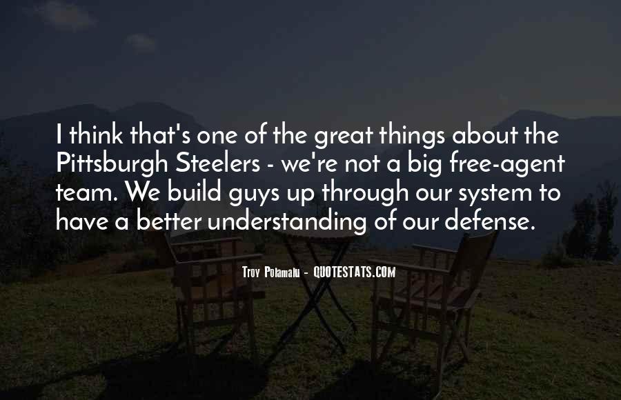 Troy Polamalu Quotes #1520753