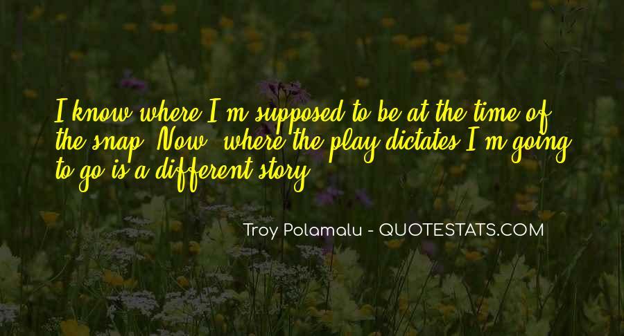Troy Polamalu Quotes #1649624