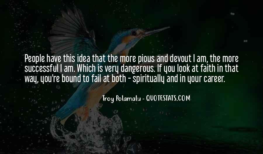 Troy Polamalu Quotes #1698123