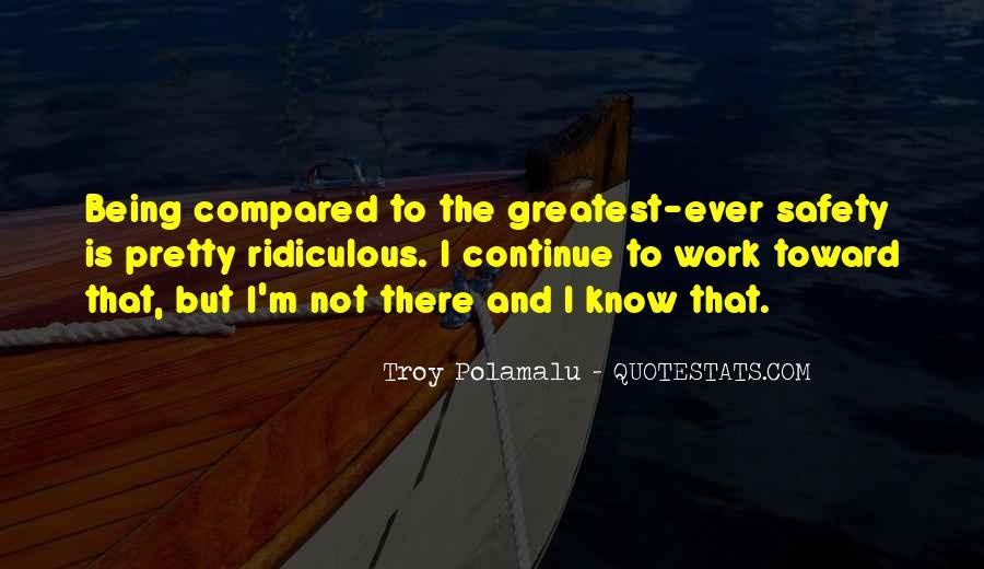 Troy Polamalu Quotes #262852