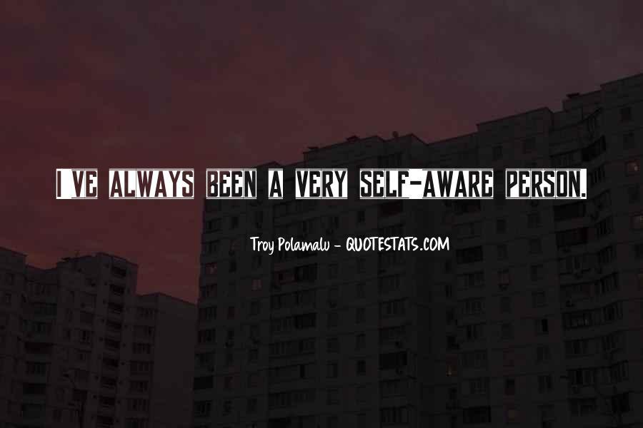 Troy Polamalu Quotes #317013