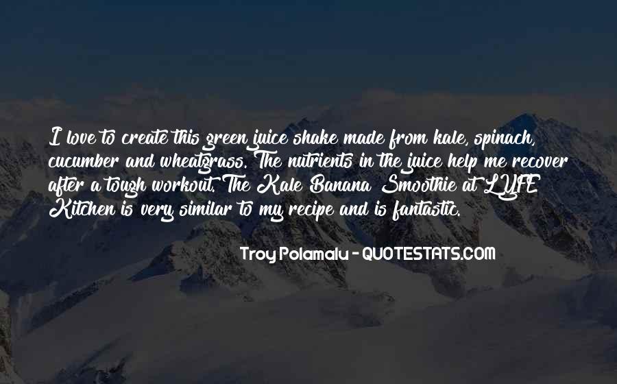 Troy Polamalu Quotes #438055