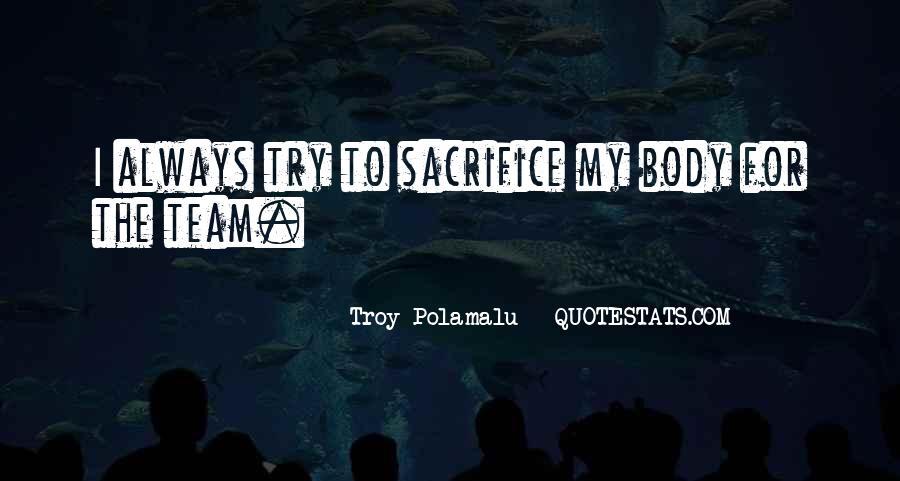 Troy Polamalu Quotes #57605