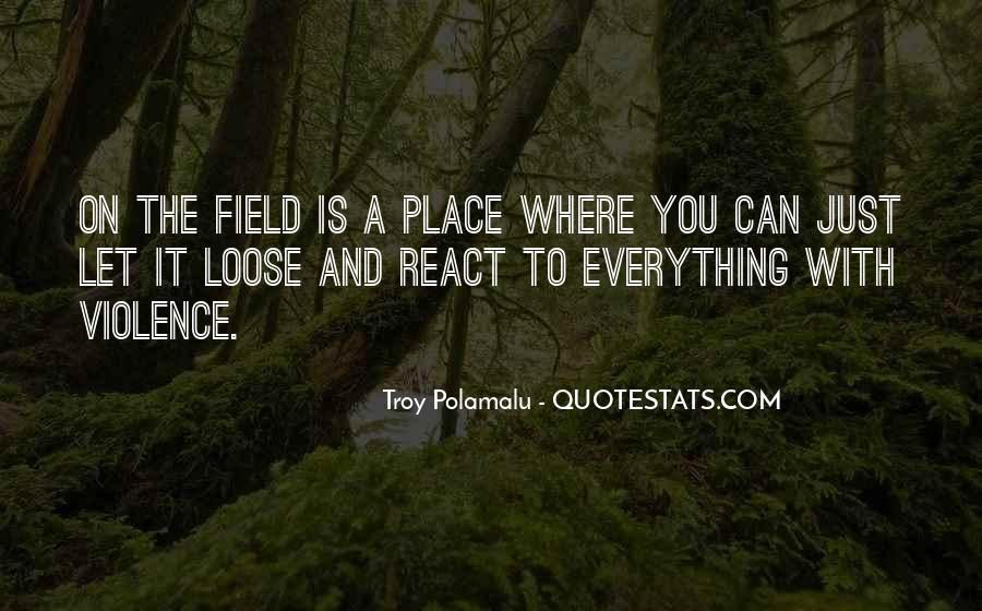 Troy Polamalu Quotes #604093