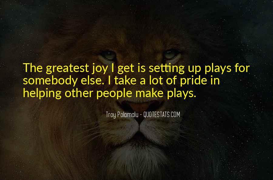 Troy Polamalu Quotes #715814