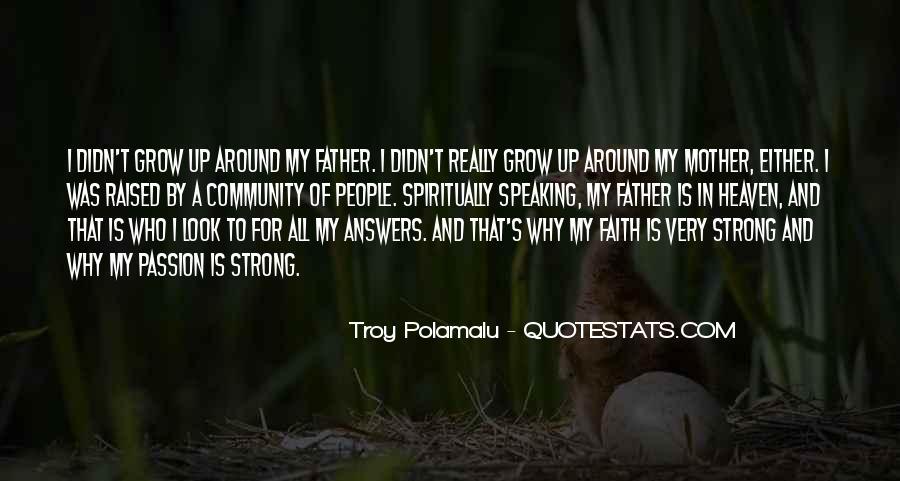 Troy Polamalu Quotes #790481