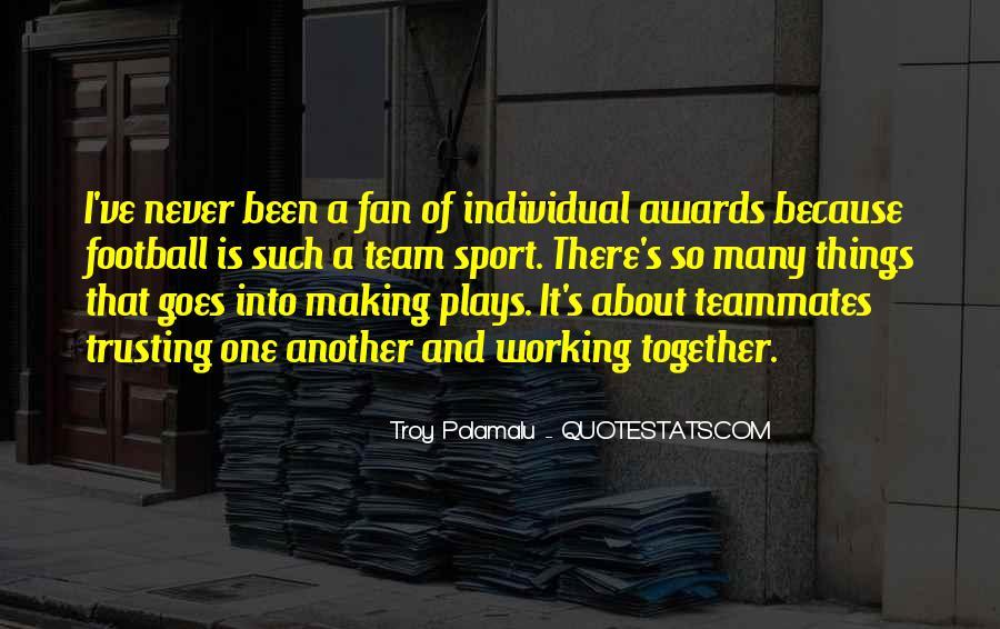 Troy Polamalu Quotes #933810