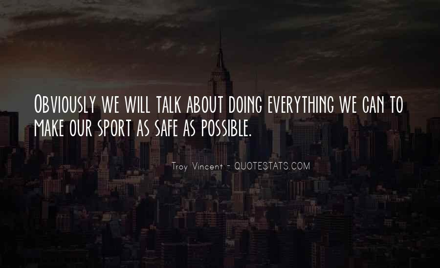 Troy Vincent Quotes #321701