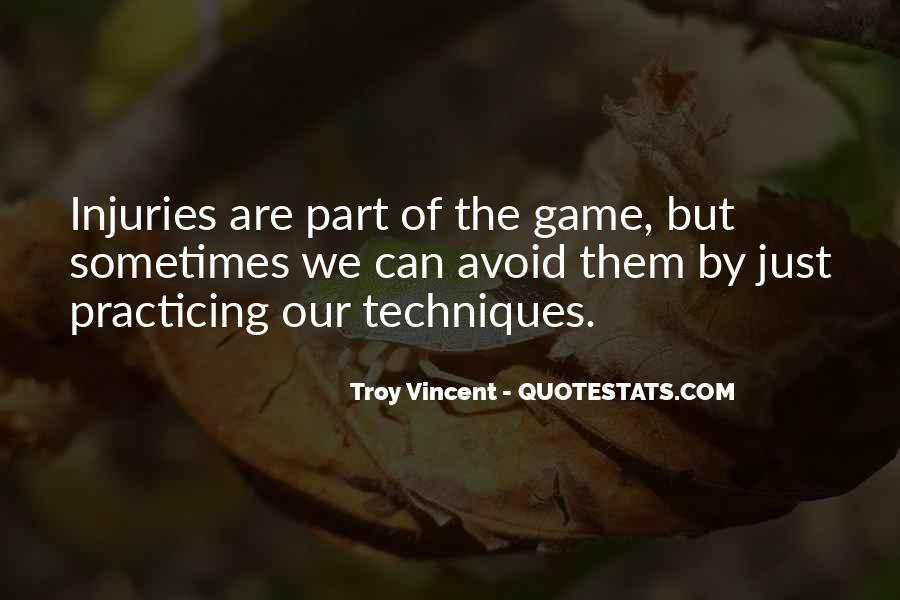 Troy Vincent Quotes #340769