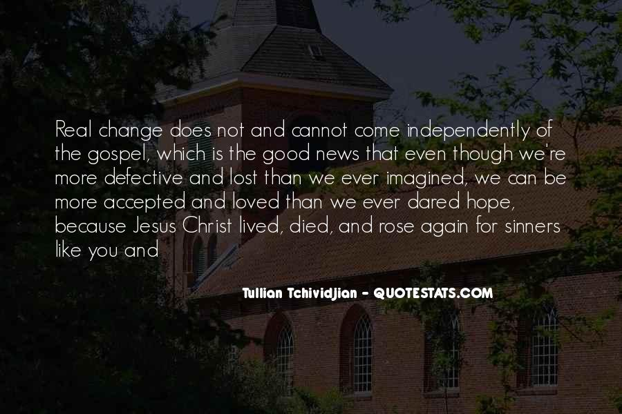 Tullian Tchividjian Quotes #1158985