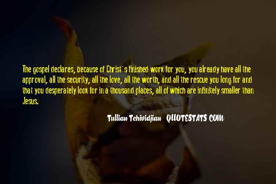 Tullian Tchividjian Quotes #150630