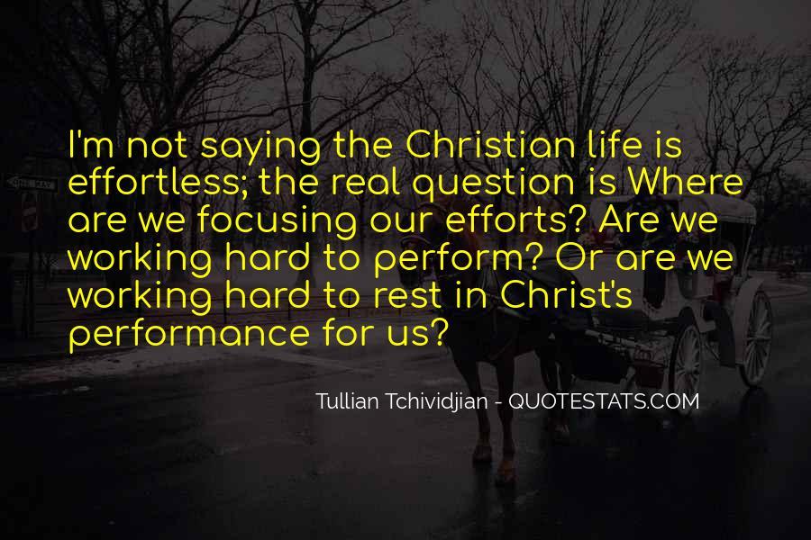 Tullian Tchividjian Quotes #1746598