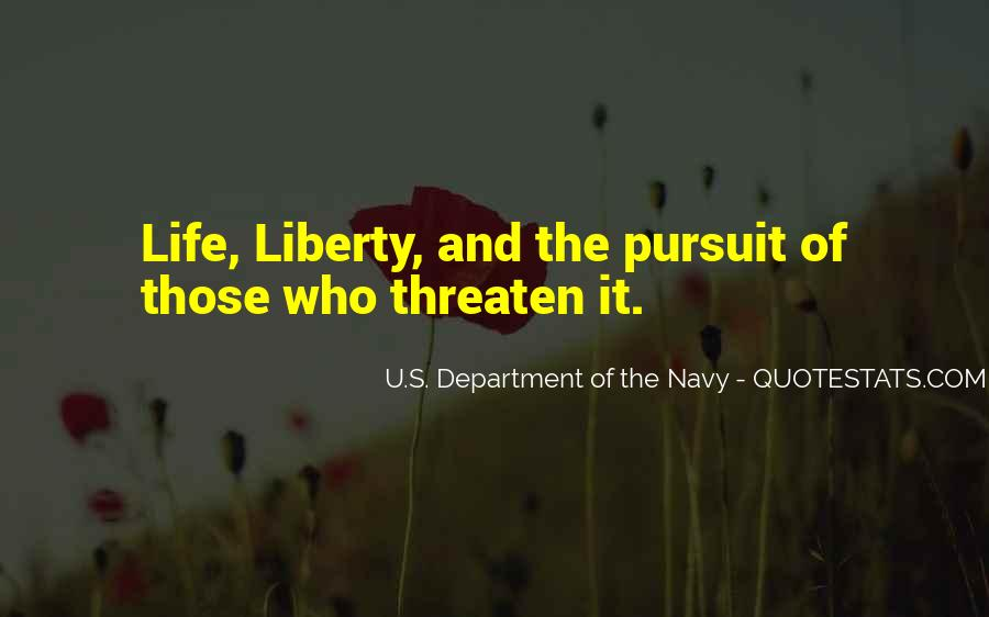 U.S. Department Of The Navy Quotes #223458