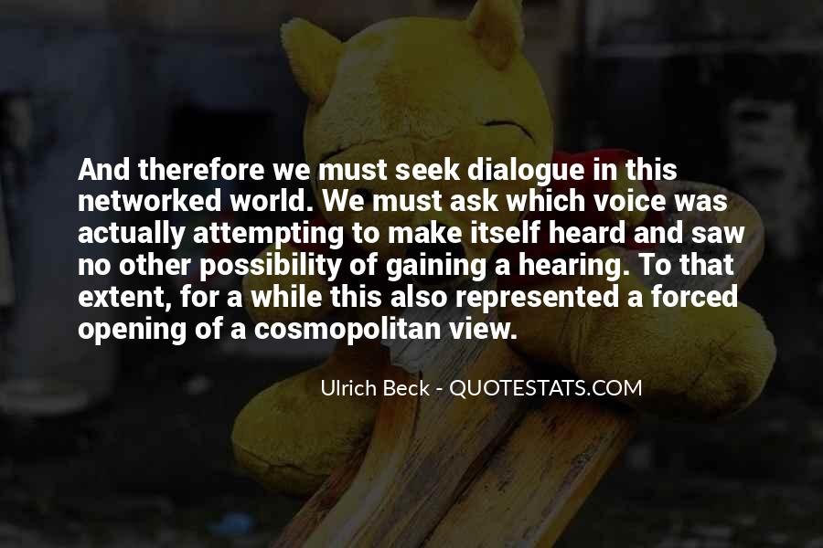 Ulrich Beck Quotes #1233763
