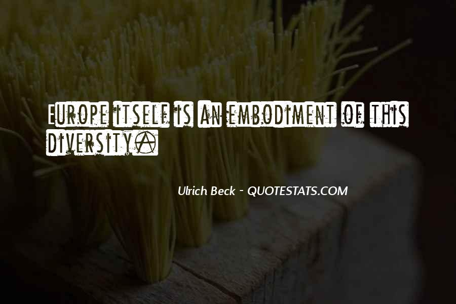 Ulrich Beck Quotes #1591127