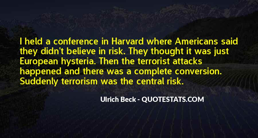 Ulrich Beck Quotes #230380