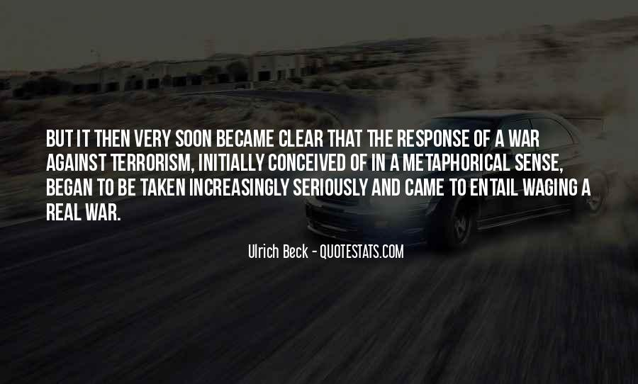 Ulrich Beck Quotes #683761