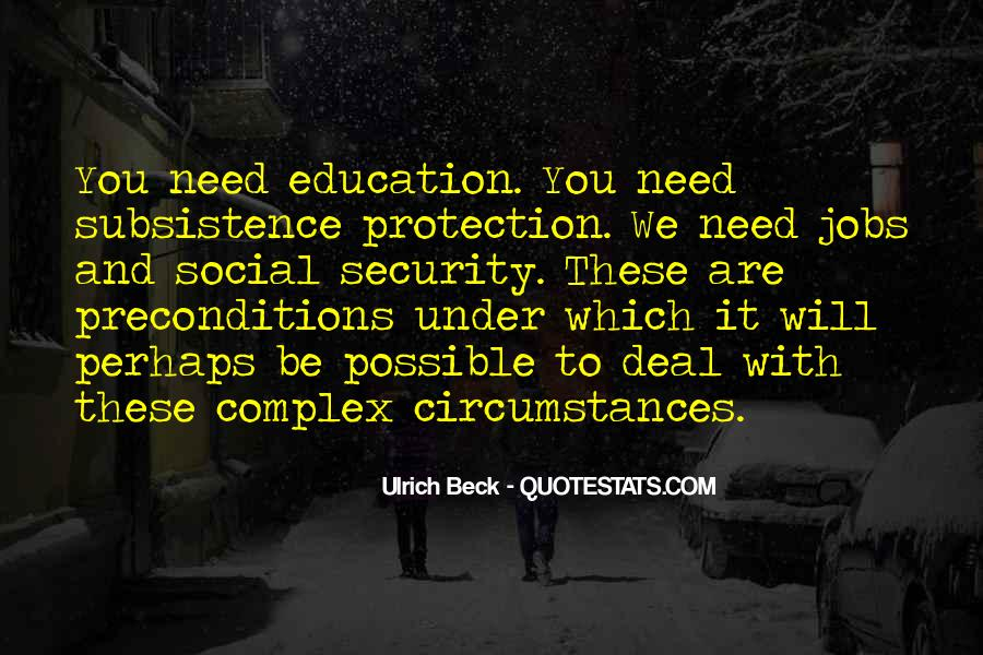 Ulrich Beck Quotes #949066