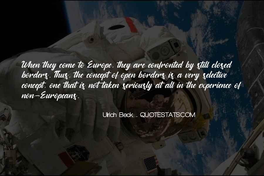 Ulrich Beck Quotes #963871