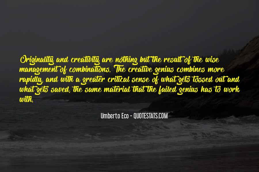 Umberto Eco Quotes #10412