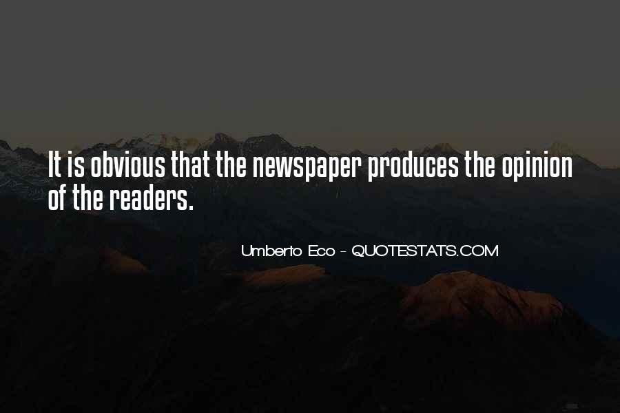 Umberto Eco Quotes #1068751