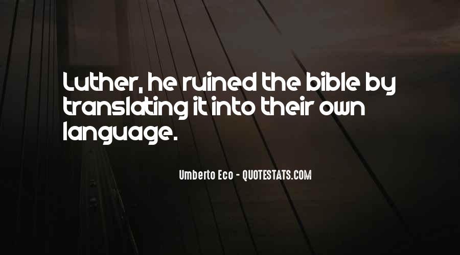Umberto Eco Quotes #1207883