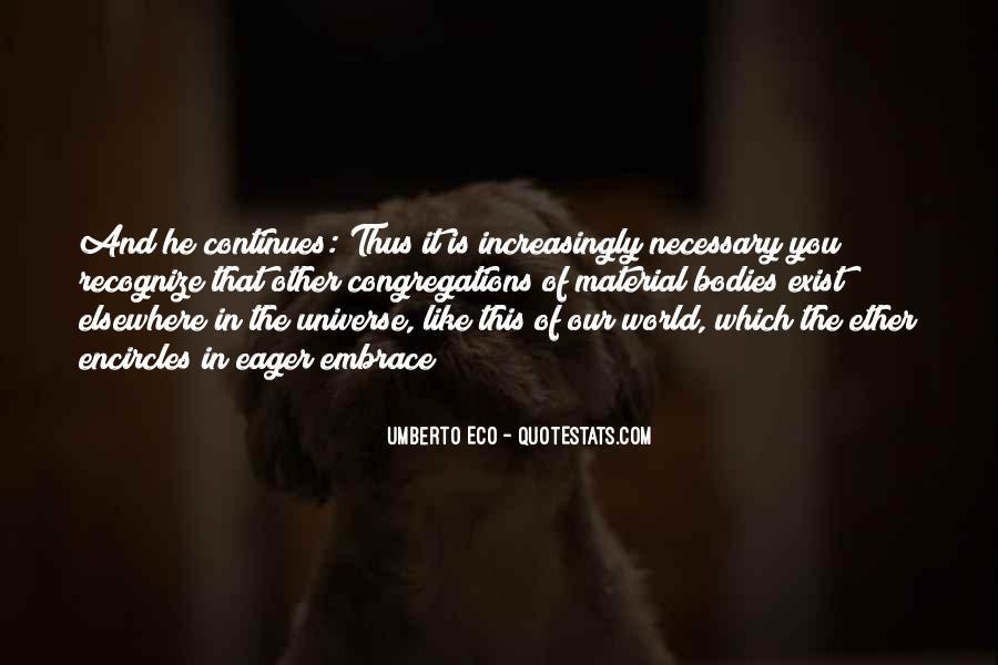 Umberto Eco Quotes #1574873