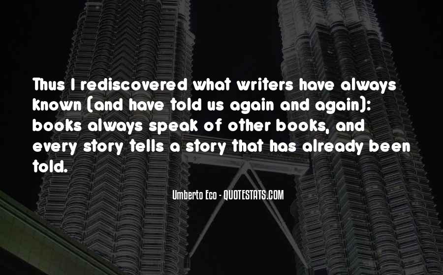 Umberto Eco Quotes #1580949