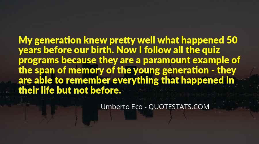 Umberto Eco Quotes #1597378