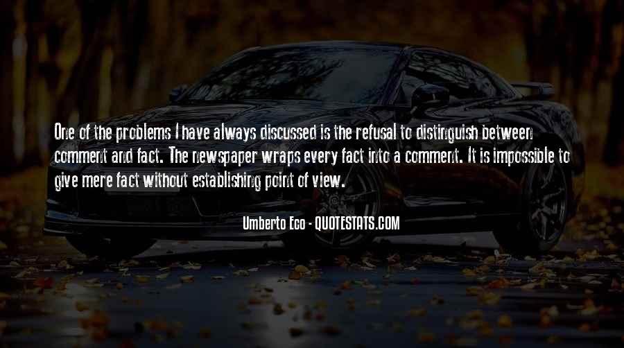 Umberto Eco Quotes #1659527