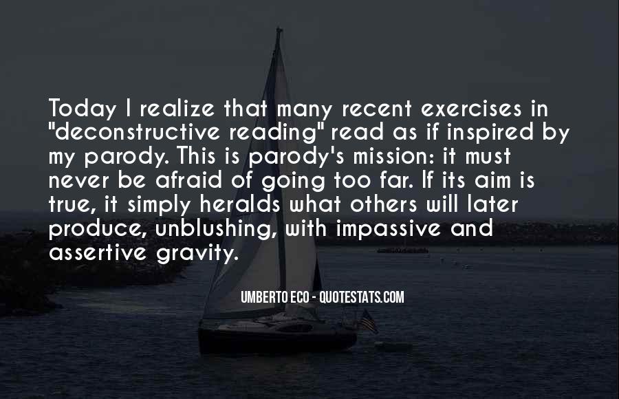Umberto Eco Quotes #1733793