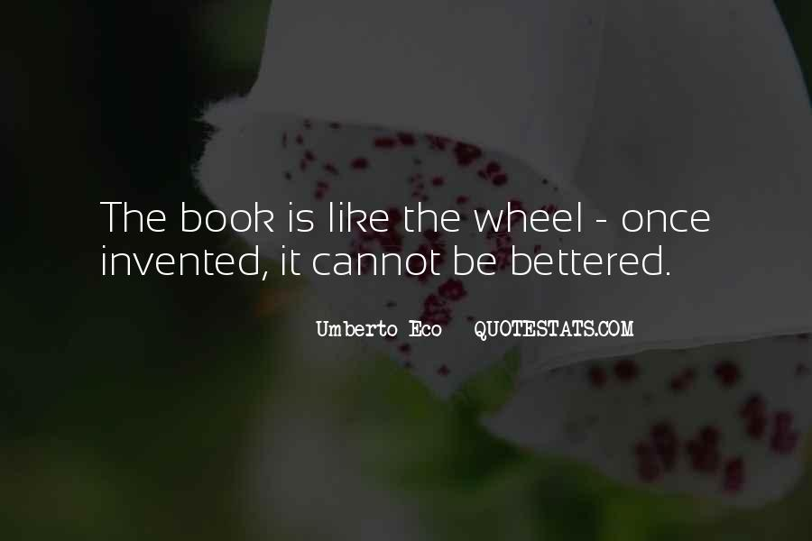 Umberto Eco Quotes #285959