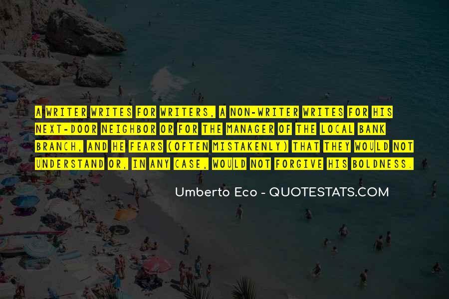 Umberto Eco Quotes #337854