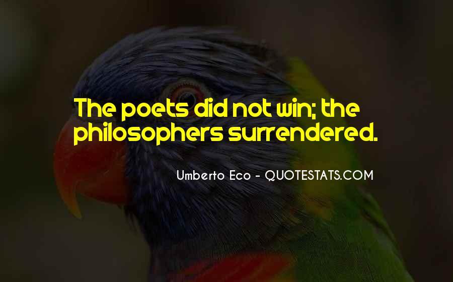 Umberto Eco Quotes #402690