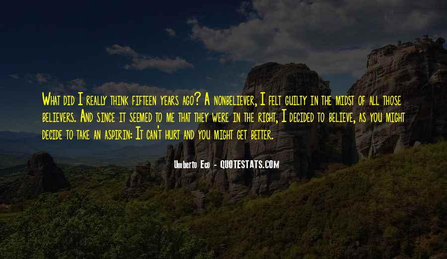 Umberto Eco Quotes #506324