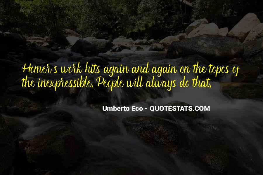 Umberto Eco Quotes #773792